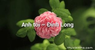 Anh tôi  –  Đinh Long