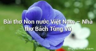 Bài thơ Non nước Việt Nam – Nhà thơ Bách Tùng Vũ