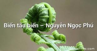 Biến tấu biển  –  Nguyễn Ngọc Phú