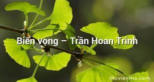 Biển vọng  –  Trần Hoan Trinh