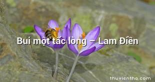 Bui một tấc lòng  –  Lam Điền