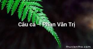 Câu cá – Phan Văn Trị