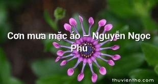 Cơn mưa mặc áo  –  Nguyễn Ngọc Phú