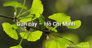 Dân cày – Hồ Chí Minh