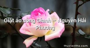 Giặt áo sông Gianh  –  Nguyễn Hải Phương