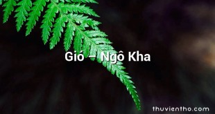 Gió  –  Ngô Kha