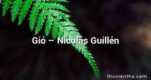 Gió  –  Nicolás Guillén