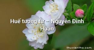 Huế tương tư – Nguyễn Đình Huân