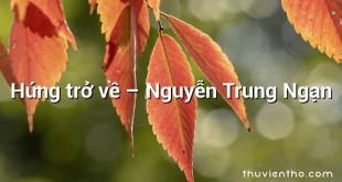 Hứng trở về – Nguyễn Trung Ngạn