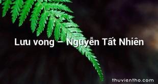 Lưu vong – Nguyễn Tất Nhiên