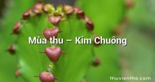 Mùa thu  –  Kim Chuông