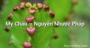 Mỵ Châu – Nguyễn Nhược Pháp