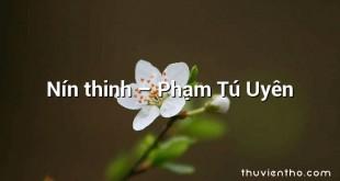 Nín thinh – Phạm Tú Uyên