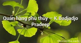 Quán hàng phù thủy  –  K.Badjadjo Pradeep