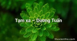 Tạm xa – Dương Tuấn