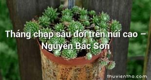 Tháng chạp sầu đời trên núi cao  –  Nguyễn Bắc Sơn
