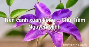 Trên cánh xuân hồng  –  Chu Trầm Nguyên Minh