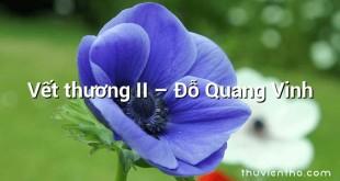Vết thương II  –  Đỗ Quang Vinh