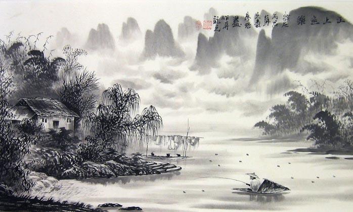 bai tho thu dieu nguyen khuyen – cau ca mua thu - Bài thơ Thu Điếu (Nguyễn Khuyễn) – Câu cá mùa thu
