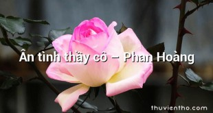Ân tình thầy cô – Phan Hoàng