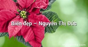 Biển đẹp – Nguyễn Thị Đức
