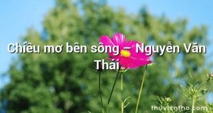Chiều mơ bên sông – Nguyễn Văn Thái