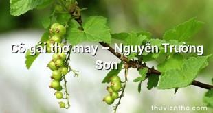 Cô gái thợ may – Nguyễn Trường Sơn