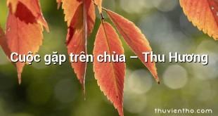 Cuộc gặp trên chùa – Thu Hương