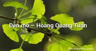 Đèn mỏ – Hoàng Quang Tuấn