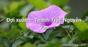 Đợi xuân – Thanh Trắc Nguyễn Văn
