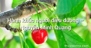 Hành khúc người diều dưỡng – Nguyễn Minh Quang