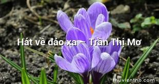 Hát về đảo xa – Trần Thị Mơ