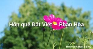 Hồn quê Đất Việt – Phan Hòa