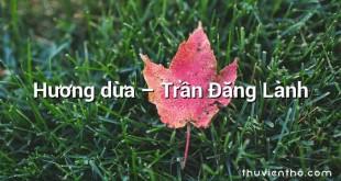 Hương dừa – Trần Đăng Lành