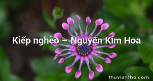 Kiếp nghèo – Nguyễn Kim Hoa