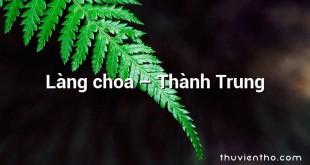 Làng choa – Thành Trung