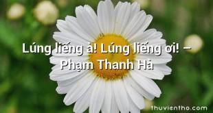 Lúng liếng à! Lúng liếng ơi! – Phạm Thanh Hà