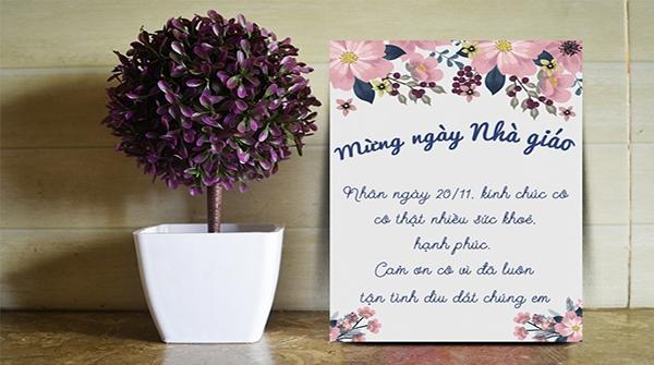 nhung bai tho ngan hay ve 2011 y nghia va cam dong 1 - Những bài thơ ngắn hay về 20/11 ý nghĩa và cảm động