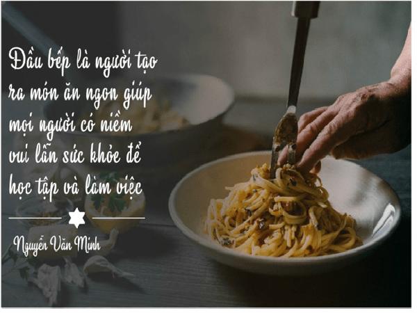 nhung bai tho ngan hay ve nghe dau bep duoc nhieu nguoi yeu thich - Những bài thơ ngắn hay về nghề đầu bếp được nhiều người yêu thích