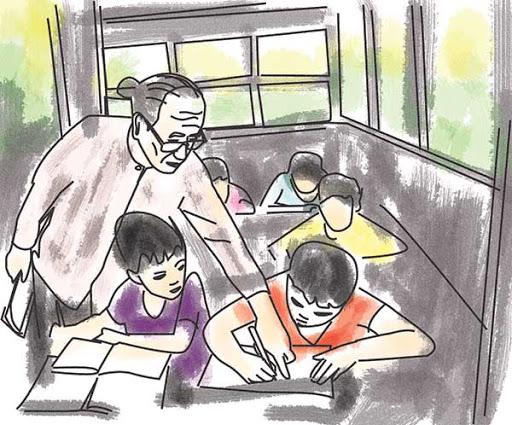 nhung bai tho ngan hay ve nghe giao vien cam dong 1 - Những bài thơ ngắn hay về nghề giáo viên cảm động