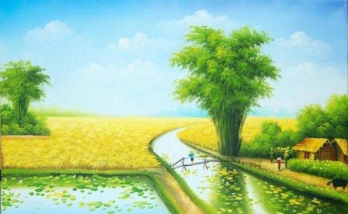 nhung bai tho ngan hay ve que huong cam dong 1 - Những bài thơ ngắn hay về quê hương cảm động