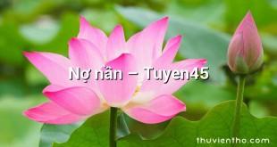 Nợ nần – Tuyen45