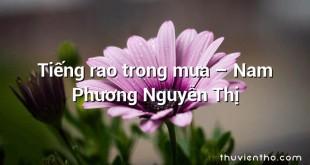 Tiếng rao trong mưa – Nam Phương Nguyễn Thị