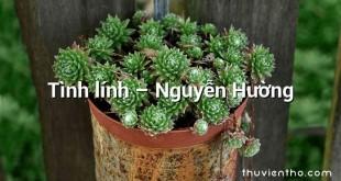 Tình lính – Nguyễn Hường