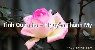 Tình Quan họ – Nguyễn Thành Mỹ