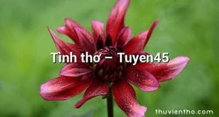 Tình thơ – Tuyen45