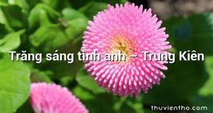 Trăng sáng tình anh – Trung Kiên