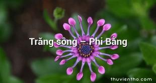 Trăng sông – Phi Bằng