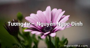 Tương tư – Nguyễn Ngọc Đĩnh