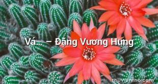 Vá… – Đặng Vương Hưng